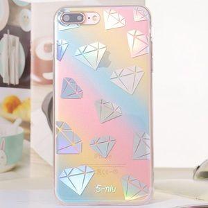 iPhone 6/6S Holographic Diamond Geo Case